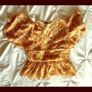 Zara short top